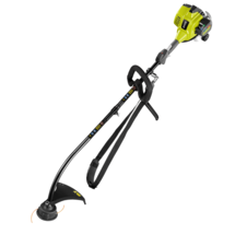 25 4cc Easy Start Curved Shaft Line Trimmer | RYOBI Tools
